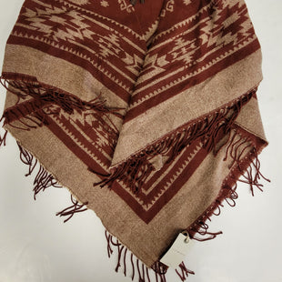 Primary Photo - BRAND: LUCKY BRAND STYLE: SHAWL COLOR: BURGUNDY SIZE: ONESIZE OTHER INFO: NEW! SKU: 198-19888-30932