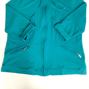 Primary Photo - BRAND: KAREN SCOTT STYLE: ATHLETIC JACKET COLOR: TURQUOISE SIZE: XXL SKU: 198-19888-32158