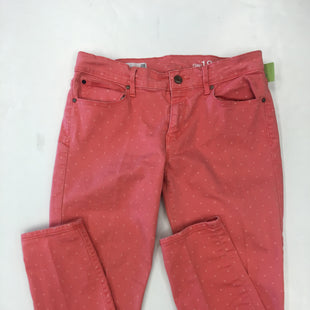 Primary Photo - BRAND: GAP STYLE: JEANS COLOR: CORAL SIZE: 6 SKU: 198-19812-17343