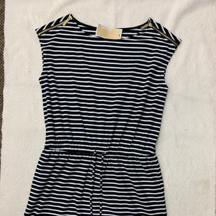 Primary Photo - BRAND: MICHAEL BY MICHAEL KORS STYLE: DRESS SHORT SHORT SLEEVE COLOR: BLACK WHITE SIZE: M OTHER INFO: NEW! SKU: 198-19888-24859