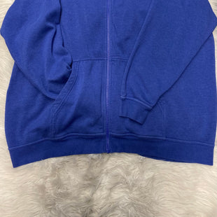Primary Photo - BRAND: NIKE STYLE: ATHLETIC JACKET COLOR: BLUE SIZE: 3X SKU: 198-19888-24693
