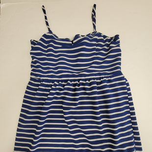 Primary Photo - BRAND: ANA STYLE: DRESS SHORT SLEEVELESS COLOR: BLUE WHITE SIZE: XL SKU: 198-19888-33214