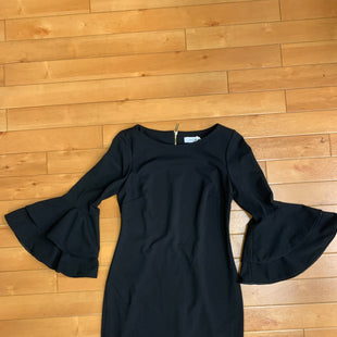 Primary Photo - BRAND: CALVIN KLEIN STYLE: DRESS SHORT LONG SLEEVE COLOR: BLACK SIZE: M SKU: 198-19888-24485