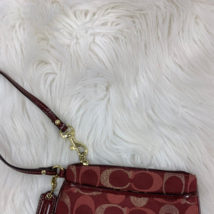 Primary Photo - BRAND: COACH STYLE: WRISTLET COLOR: RED SKU: 198-19888-18884