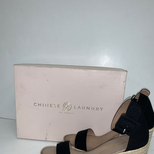 Primary Photo - BRAND: CHINESE LAUNDRY STYLE: SANDALS LOW COLOR: BLACK SIZE: 7.5 OTHER INFO: NEW! COMPARE $68. SKU: 198-19812-14597