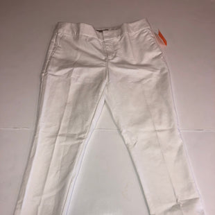 Primary Photo - BRAND: BANANA REPUBLIC O STYLE: PANTS COLOR: WHITE SIZE: 2 SKU: 198-19888-28600