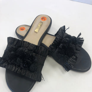 Primary Photo - BRAND:  CMB STYLE: SANDALS FLAT COLOR: BLACK SIZE: 8.5 OTHER INFO: LOUISE ET CIE - SKU: 198-19888-30141