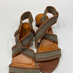Primary Photo - BRAND:    CLOTHES MENTOR STYLE: SANDALS FLAT COLOR: BROWN SIZE: 8.5 OTHER INFO: ITS OK  - SKU: 198-19876-13679