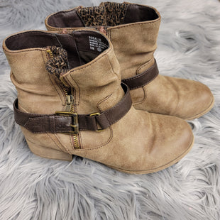 Primary Photo - BRAND: JELLY POP STYLE: BOOTS ANKLE COLOR: TAN SIZE: 8 SKU: 198-19812-12095