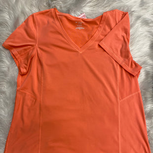 Primary Photo - BRAND: TEK GEAR STYLE: ATHLETIC TOP SHORT SLEEVE COLOR: ORANGE SIZE: 1X SKU: 198-19888-24928