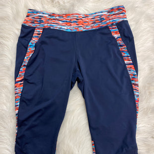 Primary Photo - BRAND: TEK GEAR STYLE: ATHLETIC CAPRIS COLOR: NAVY SIZE: 1X SKU: 198-19888-24929
