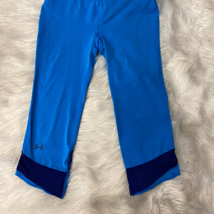Primary Photo - BRAND: UNDER ARMOUR STYLE: ATHLETIC CAPRIS COLOR: BLUE SIZE: XS SKU: 198-19888-16770