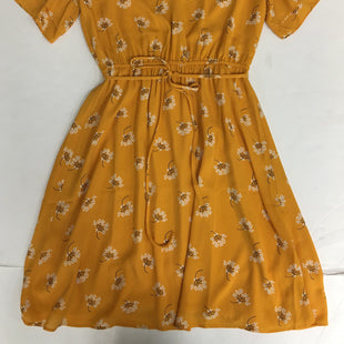 Primary Photo - BRAND: ANN TAYLOR O STYLE: DRESS SHORT SHORT SLEEVE COLOR: YELLOW SIZE: S OTHER INFO: NEW! COMPARE $79 SKU: 198-19888-33430