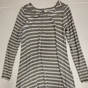 Primary Photo - BRAND: OLD NAVY O STYLE: DRESS SHORT LONG SLEEVE COLOR: GREY SIZE: S SKU: 198-19888-33192