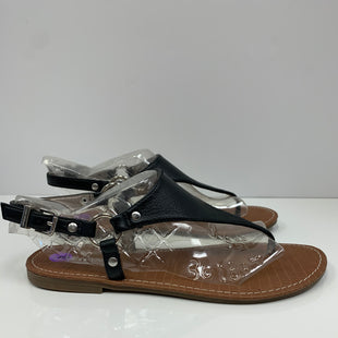 Primary Photo - BRAND: LANE BRYANT STYLE: SANDALS FLAT COLOR: BLACK SIZE: 8 OTHER INFO: NEW! SKU: 198-19888-33185
