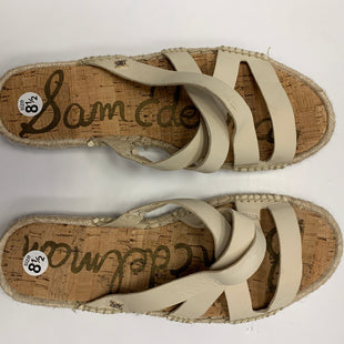 Primary Photo - BRAND: SAM EDELMANSTYLE: SANDALS FLAT SIZE: 8.5NEW!!!! COMPARE AT $80SKU: 1855822