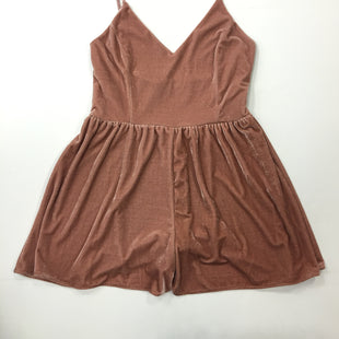 Primary Photo - BRAND: GIANNI BINI STYLE: DRESS SHORT SLEEVELESS COLOR: PINK SIZE: L OTHER INFO: ROMPER SKU: 198-19812-16535