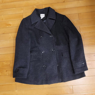 Primary Photo - BRAND: ST JOHNS BAY O STYLE: COAT LEATHER COLOR: GREY SIZE: 1X SKU: 198-19888-25014