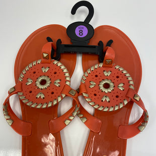 Primary Photo - BRAND: CATO STYLE: SANDALS FLAT COLOR: CORAL SIZE: 8 OTHER INFO: NEW! SKU: 198-19888-32682