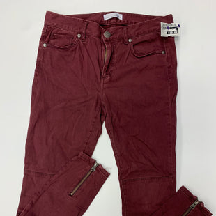 Primary Photo - BRAND: ANN TAYLOR LOFT STYLE: LEGGINGS COLOR: BURGUNDY SIZE: 2 SKU: 198-19888-27871