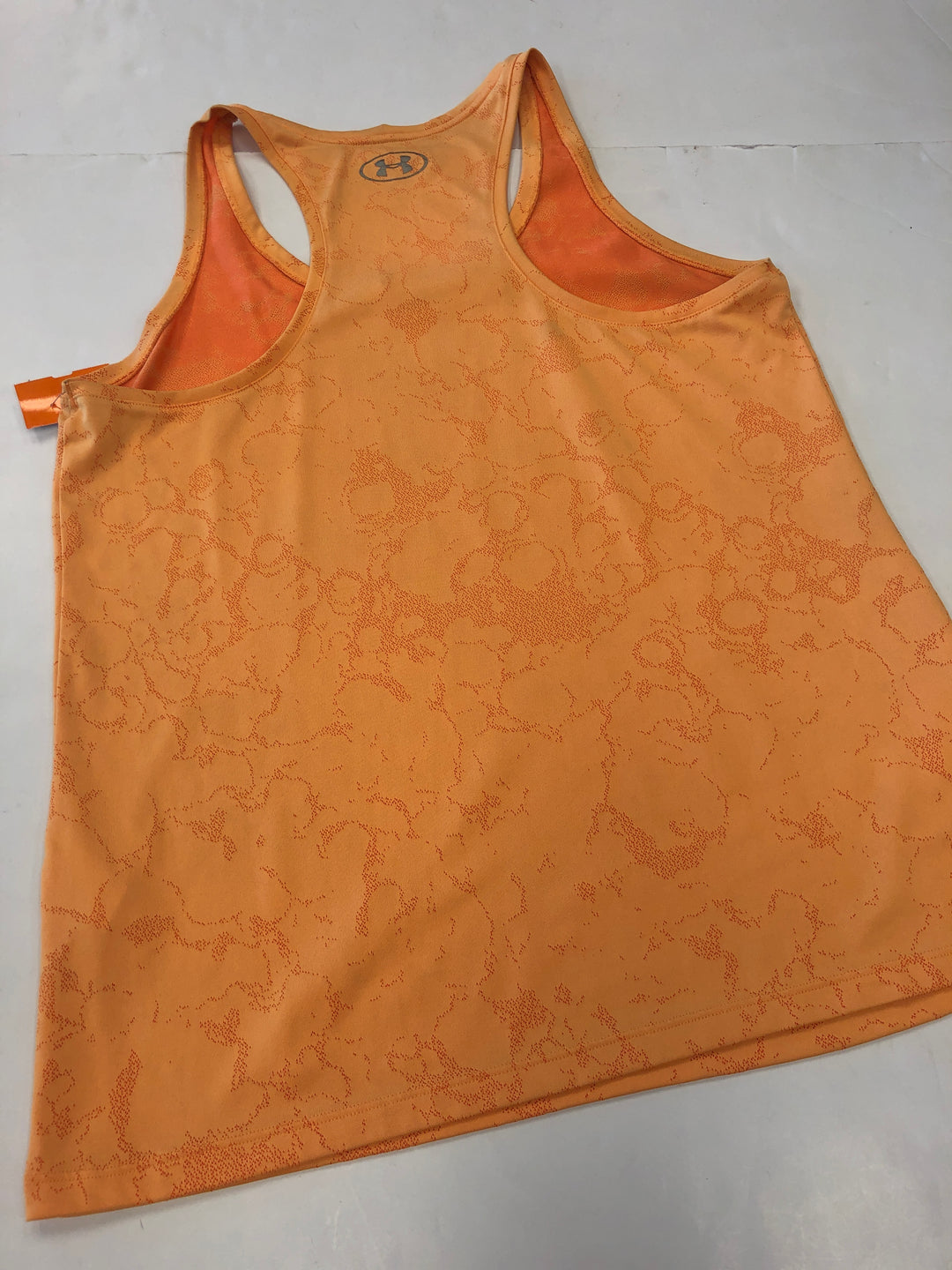 Photo #2 - BRAND: UNDER ARMOUR <BR>STYLE: ATHLETIC TANK TOP <BR>COLOR: ORANGE <BR>SIZE: XL <BR>SKU: 198-19888-32212