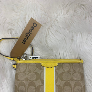 Primary Photo - BRAND: COACH STYLE: WRISTLET COLOR: YELLOW SKU: 198-19888-21183