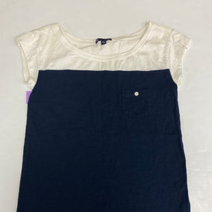 Primary Photo - BRAND: GAP STYLE: TOP SHORT SLEEVE COLOR: NAVY SIZE: XS SKU: 198-19812-18180