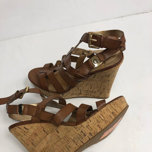 Primary Photo - BRAND: GUESS STYLE: SANDALS LOW COLOR: BROWN SIZE: 8 OTHER INFO: NEW! SKU: 198-19888-30962