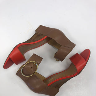 Primary Photo - BRAND: NINE WEST STYLE: SANDALS LOW COLOR: CORAL SIZE: 7 SKU: 198-19812-14848