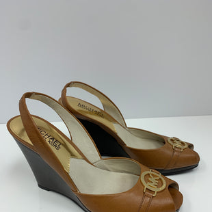 Primary Photo - BRAND: MICHAEL BY MICHAEL KORS STYLE: SANDALS LOW COLOR: BROWN SIZE: 6 SKU: 198-19888-31781