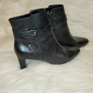 Primary Photo - BRAND: LAUREN BY RALPH LAUREN STYLE: BOOTS ANKLE COLOR: BLACK SIZE: 8.5 SKU: 198-198117-196