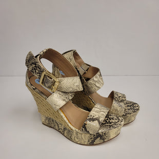 Primary Photo - BRAND: STEVE MADDEN STYLE: SANDALS HIGH COLOR: SNAKESKIN PRINT SIZE: 6 SKU: 198-19888-21352