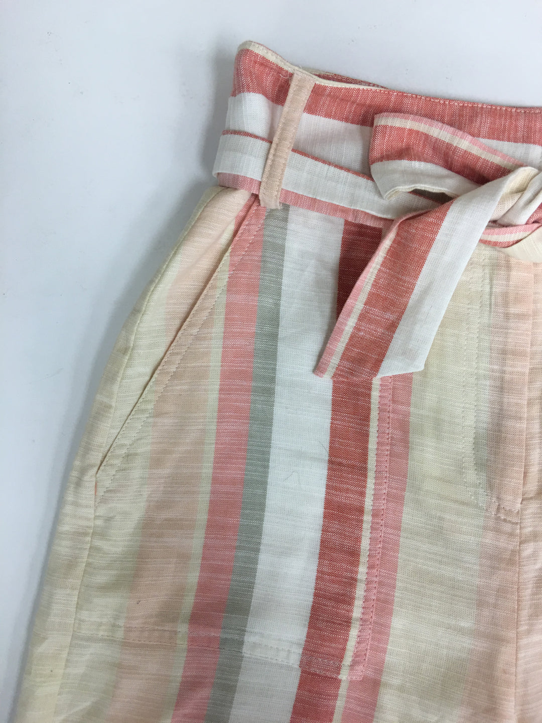 Photo #1 - BRAND: CREMIEUX <BR>STYLE: PANTS <BR>COLOR: PEACH <BR>SIZE: 0 <BR>SKU: 198-19888-33256