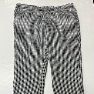 Primary Photo - BRAND: STYLUS STYLE: PANTS COLOR: BLACK WHITE SIZE: 16 SKU: 198-19888-36088