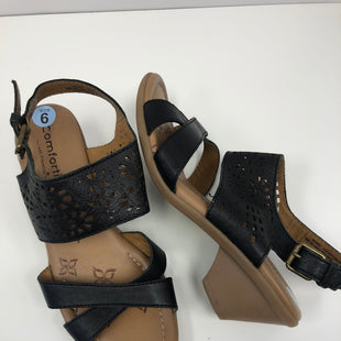 Primary Photo - BRAND:    COMFORTIVESTYLE: SANDALS LOW COLOR: BLACK SIZE: 6 OTHER INFO: COMFORTIVE - NEW! SKU: 198-19888-33388
