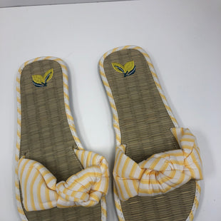 Primary Photo - BRAND:  CMF STYLE: SANDALS FLAT COLOR: YELLOW SIZE: 9 OTHER INFO: LEMON - NEW! SKU: 198-19888-33221