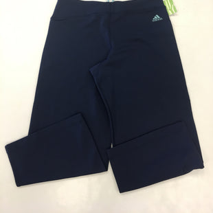 Primary Photo - BRAND: ADIDAS STYLE: ATHLETIC CAPRIS COLOR: NAVY SIZE: M OTHER INFO: LOUNGWEAR SKU: 198-19812-16936