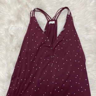 Primary Photo - BRAND: MAURICES STYLE: TANK TOP COLOR: BURGUNDY SIZE: 3X SKU: 198-19888-24699