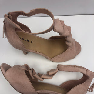 Primary Photo - BRAND: TORRID STYLE: SANDALS LOW COLOR: LIGHT PINK SIZE: 10 OTHER INFO: COMPARE $49.90 SKU: 198-19888-32794