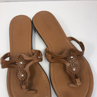 Primary Photo - BRAND:  NCCLUBSTYLE: SANDALS FLAT COLOR: BROWN SIZE: 7 OTHER INFO: NC CLUB  - SKU: 198-19888-33220