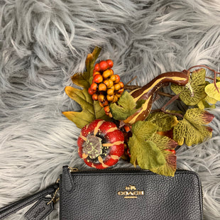 Primary Photo - BRAND: COACH STYLE: WRISTLET COLOR: BLACK OTHER INFO: DOUBLE ZIPPER SKU: 198-19888-24803