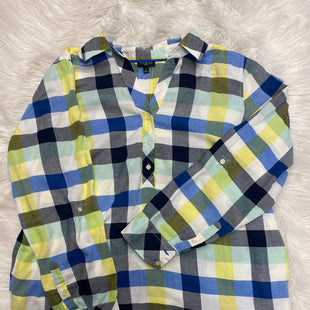 Primary Photo - BRAND: TALBOTS STYLE: TOP LONG SLEEVE COLOR: PLAID SIZE: 1X SKU: 198-19888-24730