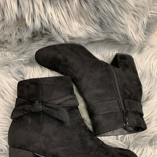 Primary Photo - BRAND: TORRID STYLE: BOOTS ANKLE COLOR: BLACK SIZE: 11 SKU: 198-19888-17769