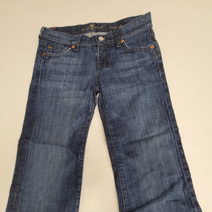 Primary Photo - BRAND: SEVEN FOR ALL MANKIND STYLE: CAPRIS COLOR: DENIM SIZE: 2 SKU: 198-19888-30424