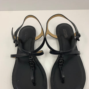 Primary Photo - BRAND: MICHAEL BY MICHAEL KORS STYLE: SANDALS FLAT COLOR: BLACK SIZE: 6 SKU: 198-19888-31721