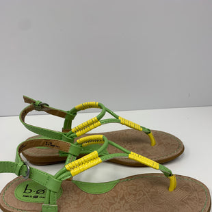 Primary Photo - BRAND: BOC STYLE: SANDALS FLAT COLOR: GREEN SIZE: 8 SKU: 198-19888-31758