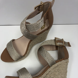 Primary Photo - BRAND: FERGALICIOUS STYLE: SANDALS HIGH COLOR: BEIGE SIZE: 7.5 SKU: 198-19888-32866