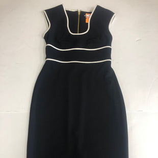 Primary Photo - BRAND: CALVIN KLEIN STYLE: DRESS SHORT SHORT SLEEVE COLOR: BLACK WHITE SIZE: 2 SKU: 198-19812-15063