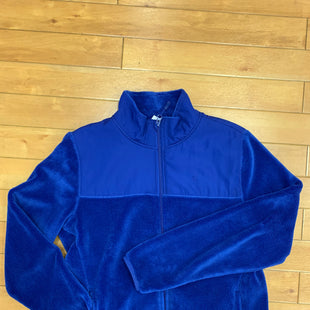 Primary Photo - BRAND: DANSKIN NOW STYLE: ATHLETIC JACKET COLOR: BLUE SIZE: L SKU: 198-198117-1066