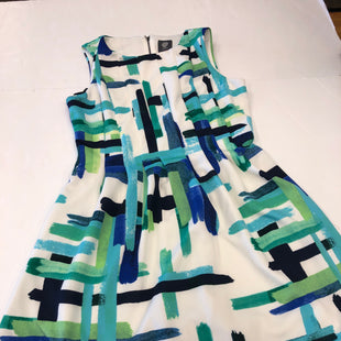 Primary Photo - BRAND: VINCE CAMUTO STYLE: DRESS SHORT SLEEVELESS COLOR: BLUE GREEN SIZE: L SKU: 198-19888-32564